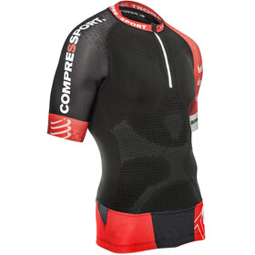 Compressport Trail Running V2 Maglietta da corsa Uomo nero